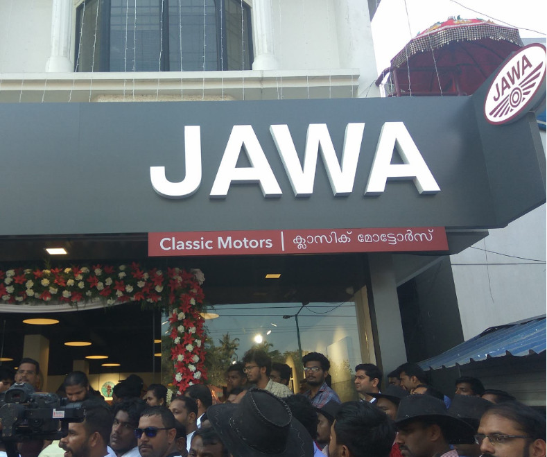 Jawa opens motorcycle showrooms in several cities ahead of launch