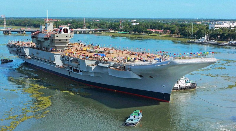 Tata Power delivers Combat Management System for Indian Navy's Indigenous Aircraft Carrier