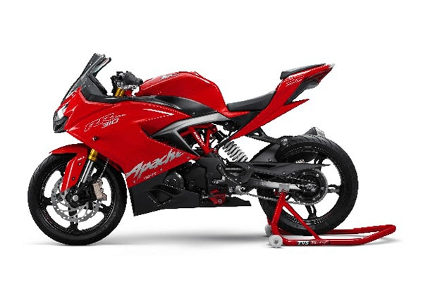 TVS Motors launches upgraded version of sports bike TVS Apache RR 310