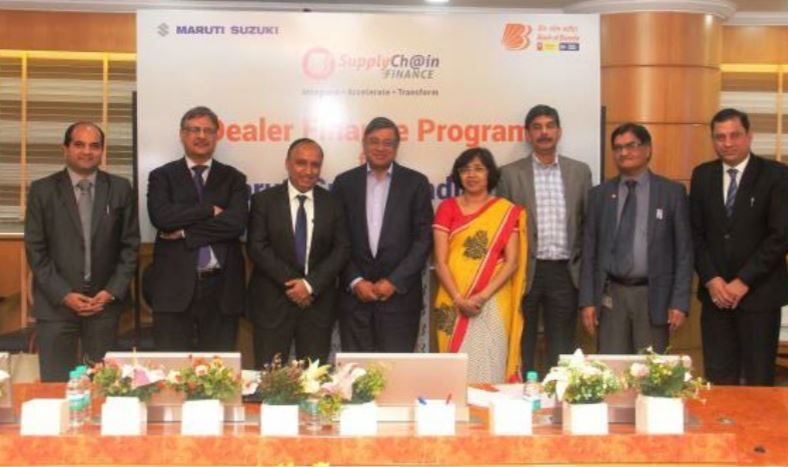 Bank of Baroda offers inventory loans to Maruti Suzuki dealers