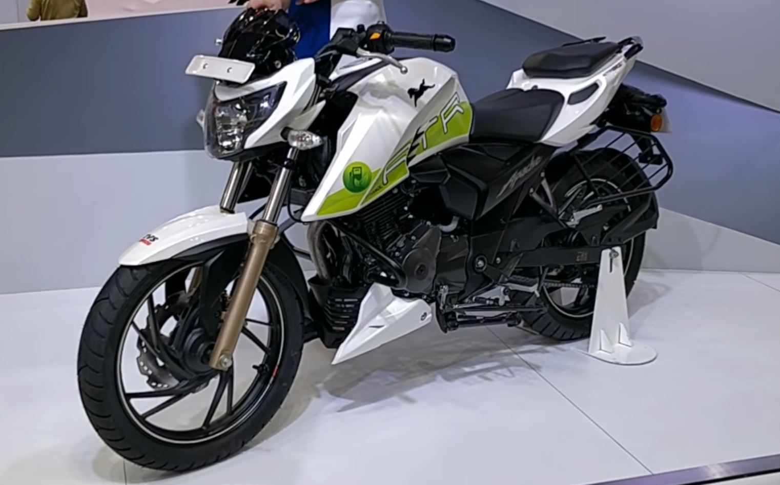 TVS's Ethanol bike priced at Rs 1.2 lakhs, top speed 129 kmph