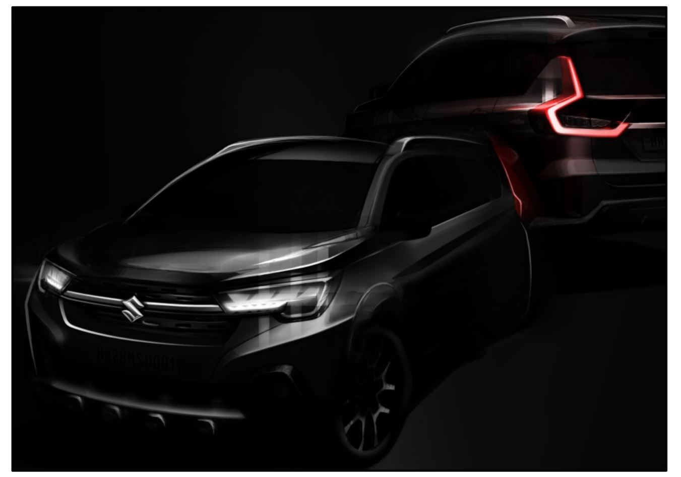 Maruti Suzuki releases 'first sketch' of Innova-rival XL6, launch soon