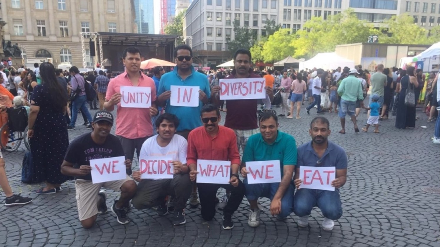 Beef withdrawn from Indian Consulate exhibition after protests