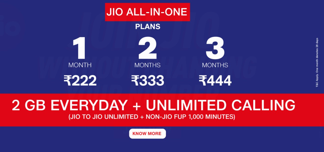 Reliance Jio says it will increase tariffs soon