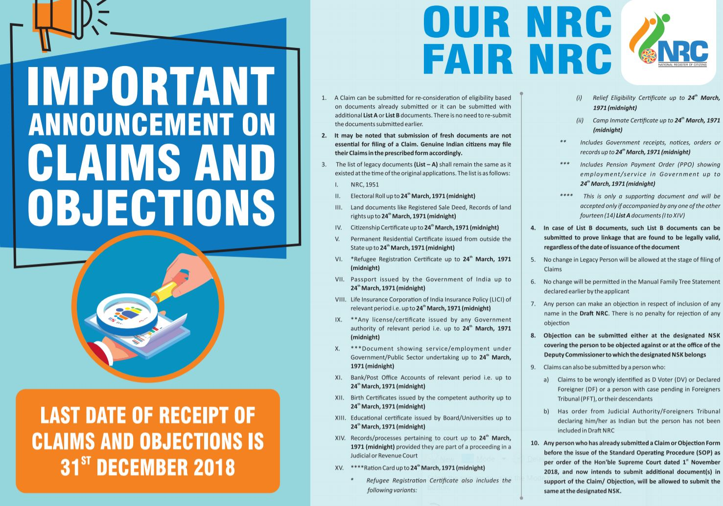 Not decided to go ahead with nationwide NRC – MoH