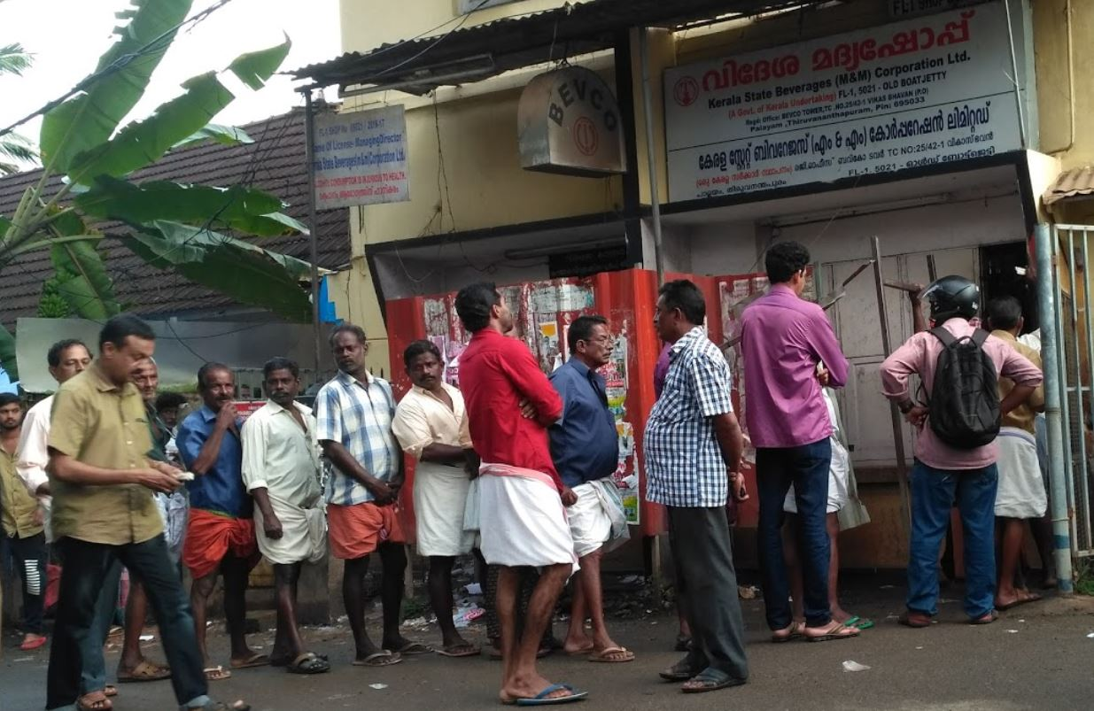 COVID-19: Kerala likely to increase liquor outlets to prevent crowding