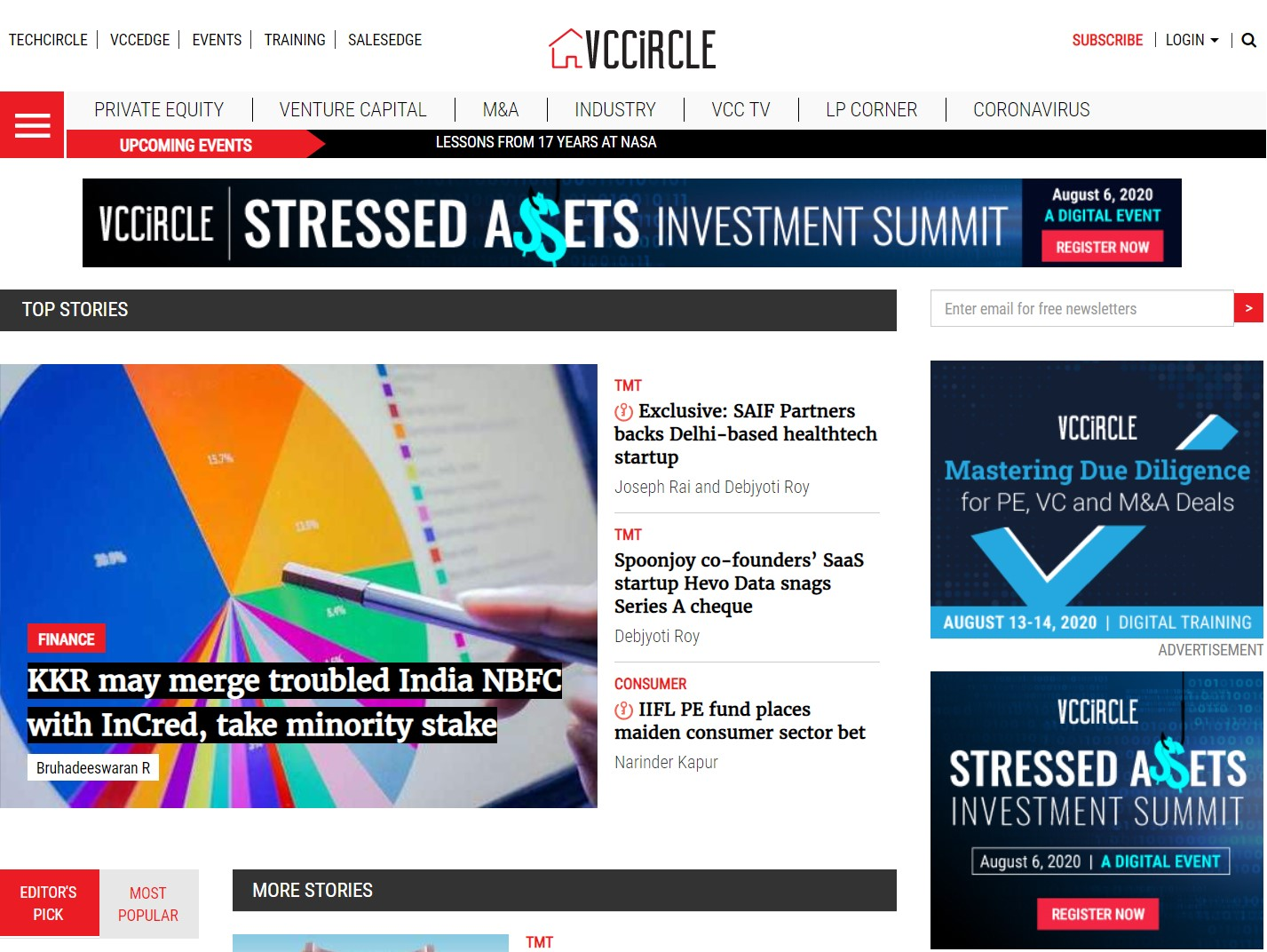 NewsCorp sells VCCircle to HT Media