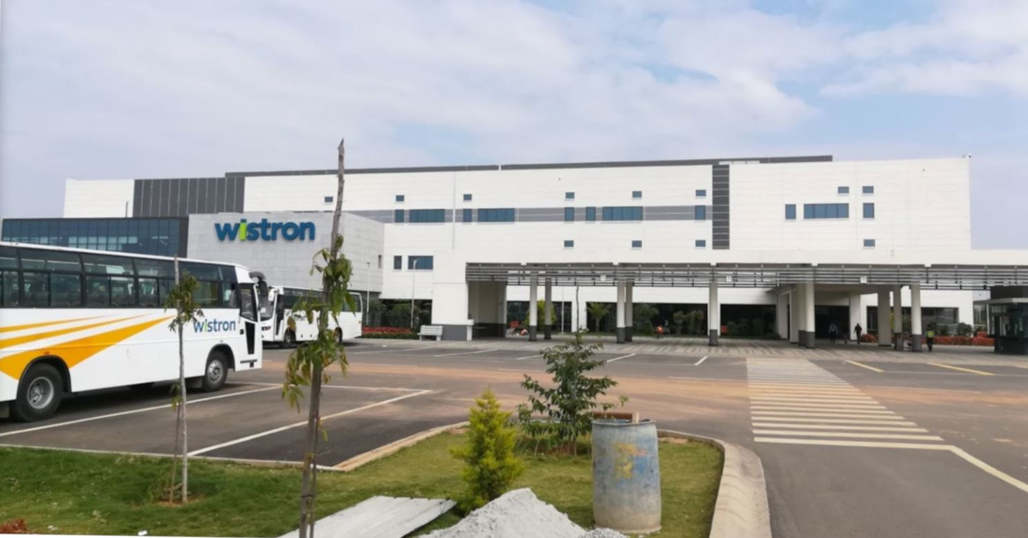 Apple-supplier Wistron starts expanding India plant