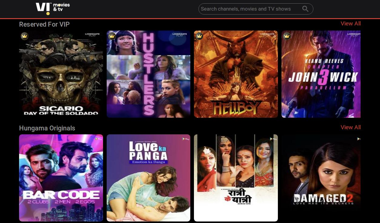 Vodafone Idea to offer latest Hollywood movies on rent