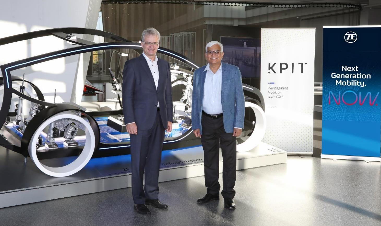 KPIT Tech in tie-up with German auto parts giant